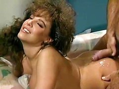 Alexis DeVell, Micky Ray in horny tight ass chick from classic porn movies