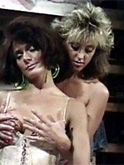 Horny retro lesbian action
