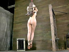 Super Sexy Kristine Kahill has returned for another serving of rough bondage and hard cock just...
