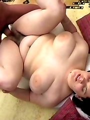 Young chubby amateur with big hairy muff fucking hard