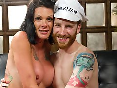 Morgan Bailey is devastatingly gorgeous playing a house wife who seduces the milk man when her...