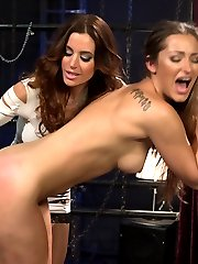 Welcome back all natural drop dead gorgeous, Dani Daniels to Whipped Ass in this sexy lesbian...
