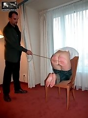 Severe bedroom punishment with 3 harsh implements