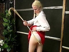 Joanna punished with the Rod