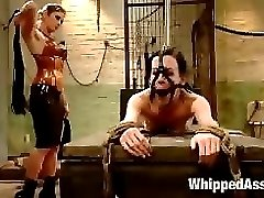 Elise Graves is unbelievably tough and loves anything to do with BDSM. We tie her in an...
