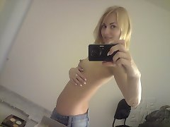 The worlds sweetest mirror girls pose nude