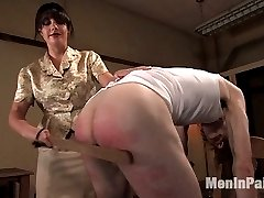Its Johnnys last day of school and Head Mistress Penny Flame stops by the dorm to administer one...