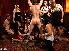 Maitresse Madeline throws Bobbi Starr a birthday soiree fit for a queen! Bobbi Starr, Maitresse...
