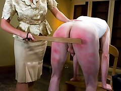 Its Johnnys last day of REDACTED and Head Mistress Penny Flame stops by the dorm to administer...
