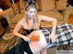 POV Bunny Spanks Sexual Harrasser
