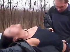 street hooker fucked in the woods