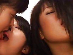 Cute Japanese lesbians