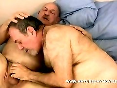 Chubby And Hairy Daddy Fuck His Mature Friends Ass