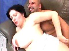 Big huge tits chubby 1