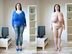Mature Milf BBW Macromastia Bouncing Boobs