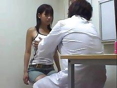 Doctor  boobs checkup