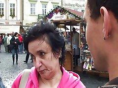 Tourist Granny Gets Humped 1