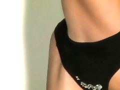Sexy flexible striptease