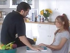 Dad fucks her young step-daughter