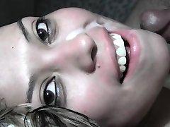 Compilation of girls swallowing bukkake