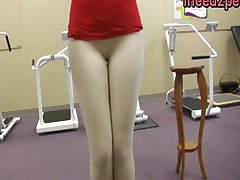 Just panty and tight jeans wetting peeing 28
