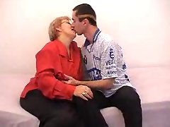 Russian Granny And Boy 141