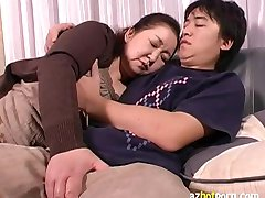 AzHotPorn.com - Japanese BBW Grandmas Having Asian Sex