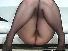 Sexy MILF Nina Hartley stripping part6