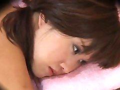 Japanese Lesbian Seduction during Massage