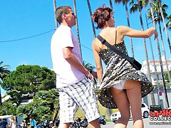 Very special public upskirts pics