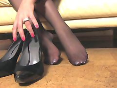 Nice Woman Nice Nylonfeet 7