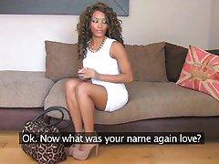 FakeAgentUK - Ebony amateur gets duped
