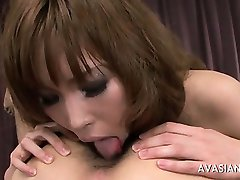 Tit fuck turns to ass rimming