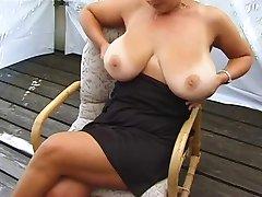 Mega Hangers #13 Busty Cougar