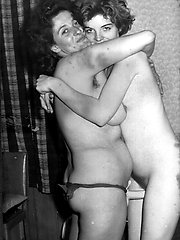 Lesbian love was so naughty back in the 50s and 60s!