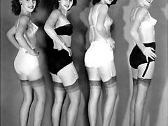 Sexy vintage girls, 3 or more at a time!