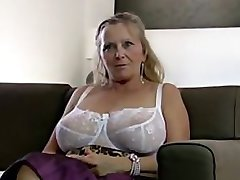 64yr old Hairy Busty Granny Isabel Shows All Her Stuff