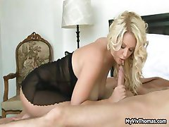 Super hot blond babe starving foor cock, part5