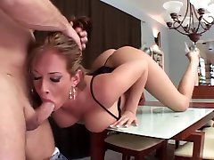 Hot and plump milf gets double penetrated with dicks and dildos