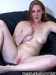 Naked jerk teasing