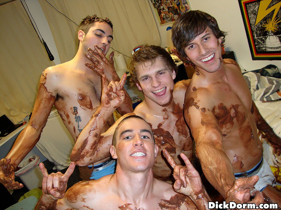 Gay college cock party
