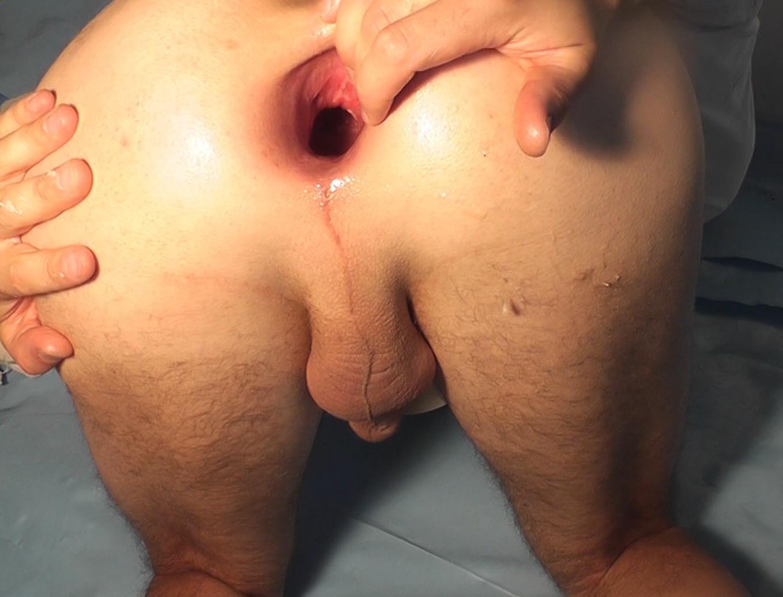 Beach nude ass butt spread