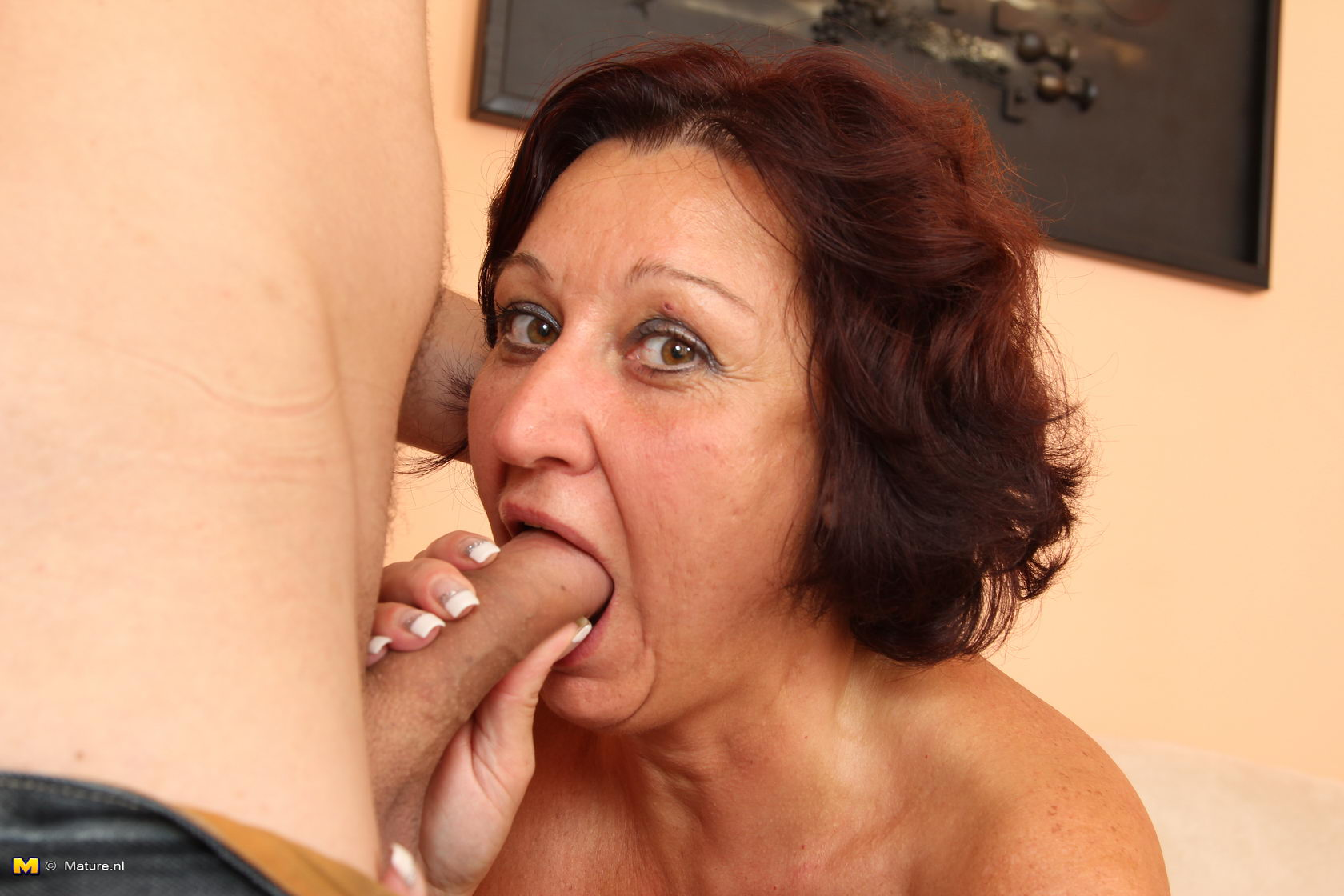 3 Matures And Boy Porn horny mature slut fucking and sucking a toy boy
