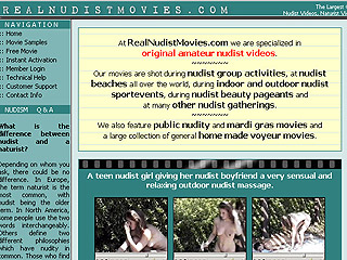 Real Nudist Movies