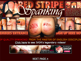 Red Stripe Spanking