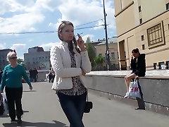 smoking fetish candid girl 319