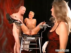 Extreme mature double fisted in her gaping twat