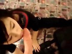 Cute Asian Sucking Cock