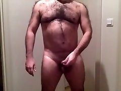 Daddy strips on webcam