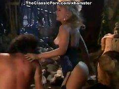 Nina Hartley, Jon Dough in 80&039;s porn video of a barbarian